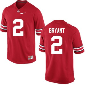 Mens Ohio State Buckeyes #2 Christian Bryant Red College Football Jerseys 226552-806