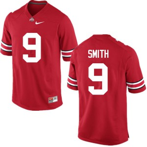 Mens Ohio State Buckeyes #9 Devin Smith Red College Football Jerseys 587045-606