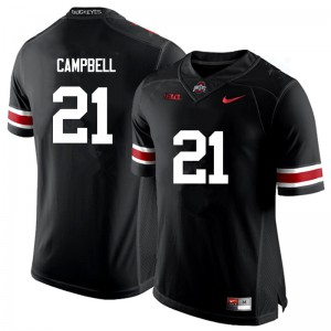 Mens Ohio State Buckeyes #21 Parris Campbell Black College Football Jerseys 269056-715