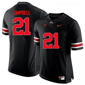 Mens Ohio State Buckeyes #21 Parris Campbell Black College Football Jerseys 676069-473
