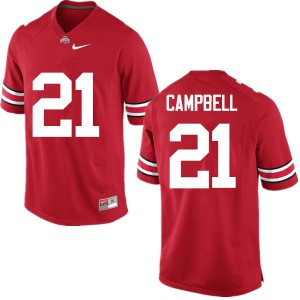 Mens Ohio State Buckeyes #21 Parris Campbell Red College Football Jerseys 964650-955