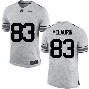 Mens Ohio State Buckeyes #83 Terry McLaurin Gray College Football Jerseys 411036-882