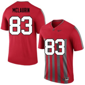 Mens Ohio State Buckeyes #83 Terry McLaurin Throwback College Football Jerseys 484716-213