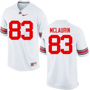Mens Ohio State Buckeyes #83 Terry McLaurin White College Football Jerseys 282507-133