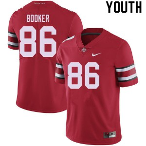 Youth Ohio State Buckeyes #86 Chris Booker Red College Football Jerseys 304598-392