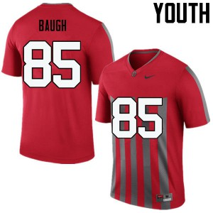 Youth Ohio State Buckeyes #85 Marcus Baugh Throwback College Football Jerseys 464582-709