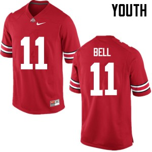 Youth Ohio State Buckeyes #11 Vonn Bell Red College Football Jerseys 925650-323