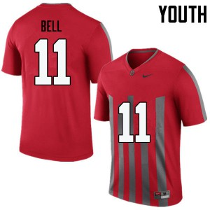 Youth Ohio State Buckeyes #11 Vonn Bell Throwback College Football Jerseys 566590-231